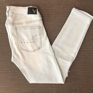 AEO Jegging Ankle Distressed Jeans